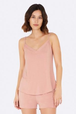 Goodnight Sleep Cami Dusty Pink Front 1 360x
